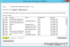 SQL Server Advanced Security