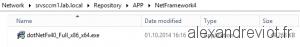 .Net Framework 4 Repository