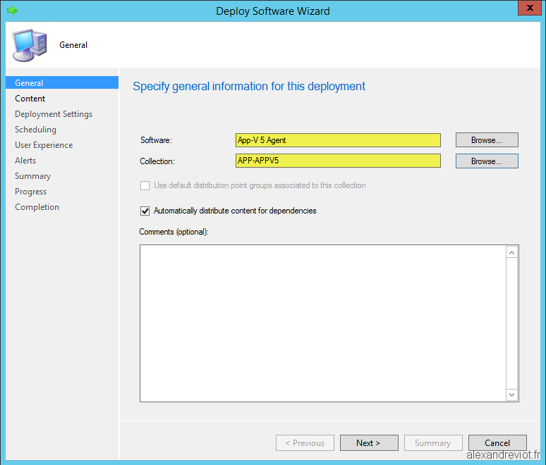 SCCM 2012 - How to deploy App-V 5 Agent - Alexandre VIOT