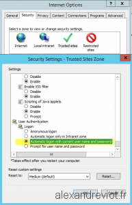 Application Catalog Trusted Zone options