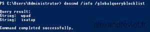 DNS WPAD Filtering