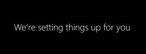 Windows 8.1 Welcome Screen